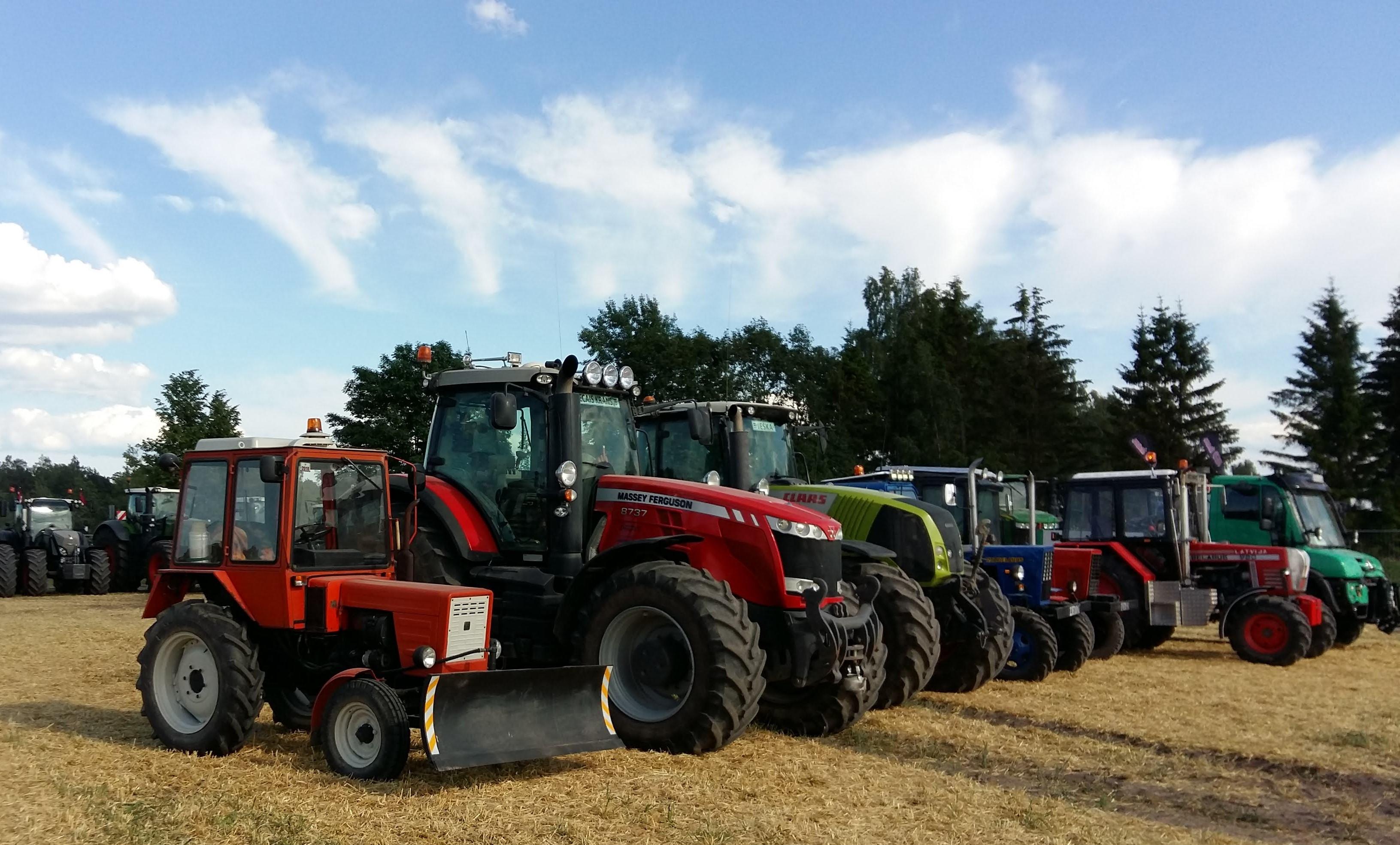 Traktortehnikas apskates Kuldīgas novadā